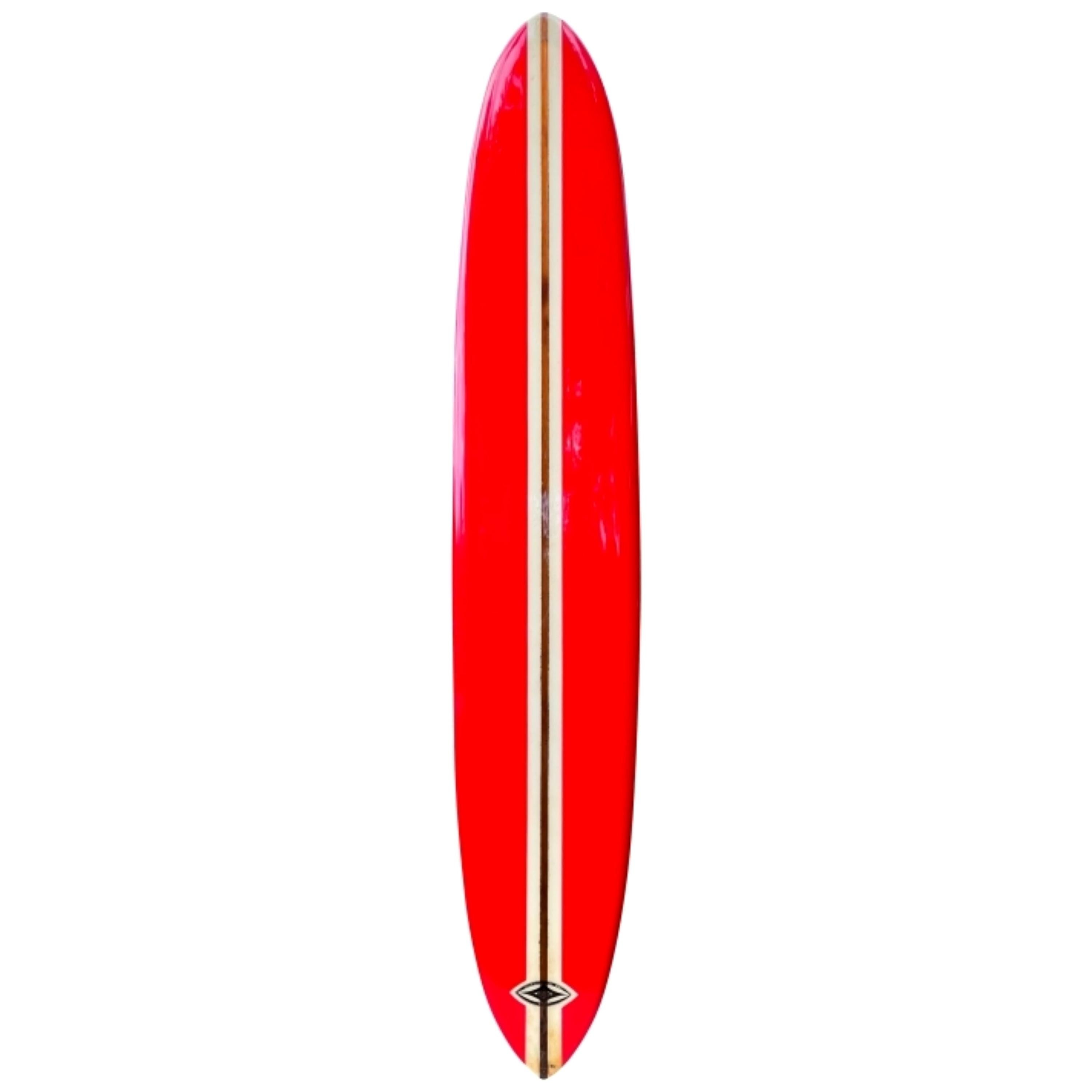 """Vintage 1960s Stanley """"Savage"""" Parks Personal Surfboard by Inter Island Surf"""