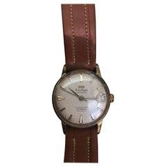 Vintage 1960s Swiss Made Gold-Plated Gents Automatic Watch