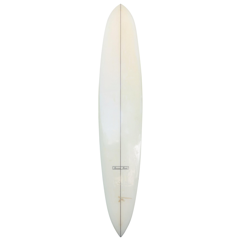 Vintage 1960s Tamarack Pintail Longboard Surfboard