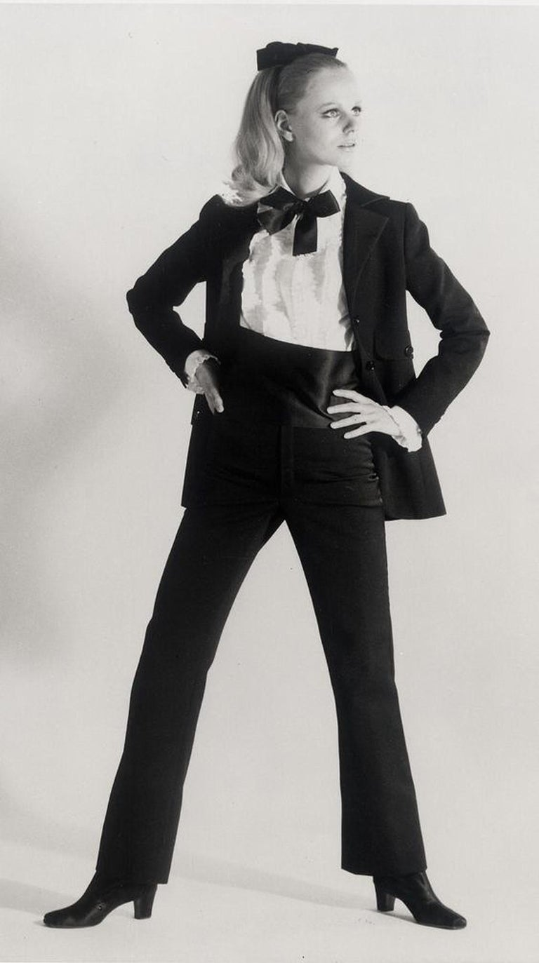 First created in 1966 by famous couturier Yves Saint Laurent, the