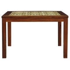 Vintage 1970s Coffee Table Danish Design Rosewood
