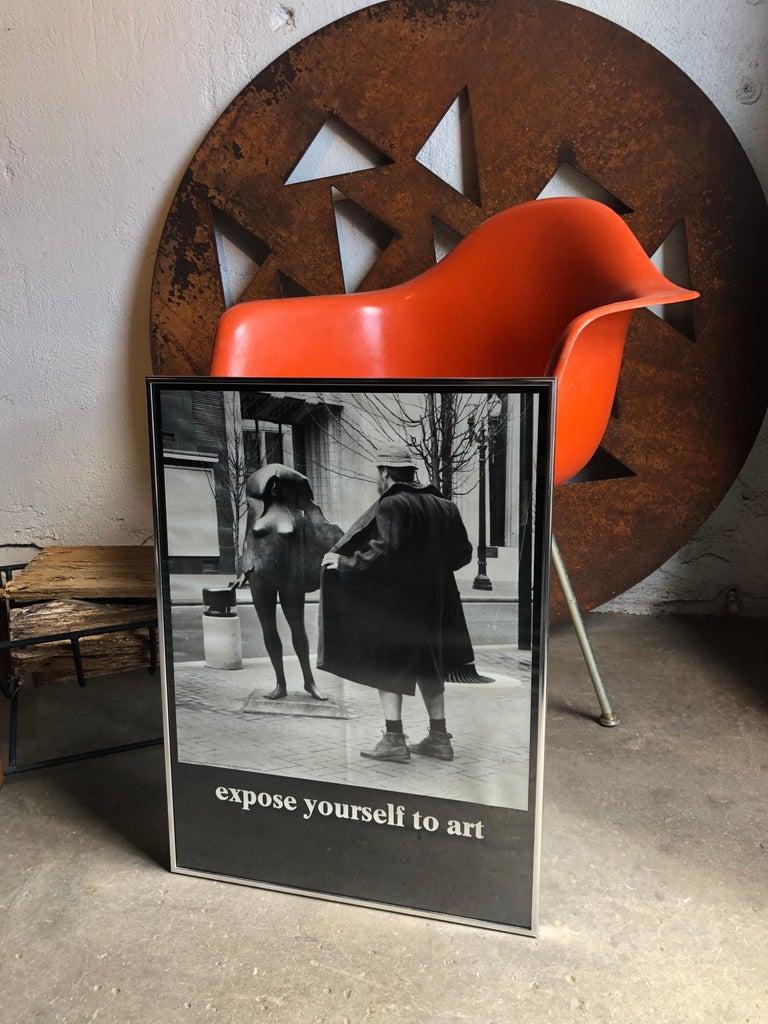 Hilarious vintage framed poster from 1979,