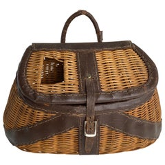 Vintage 1970s Fly Fishers Supply Basket