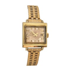 Vintage 1970s Gold-Plated / Stainless Steel Rado Automatic Watch