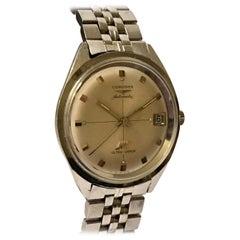 Vintage 1970s Longines Automatic Ultra-Chron Wristwatch