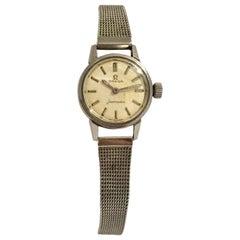 Vintage 1970s Omega Seamaster Ladies Stainless Steel Watch