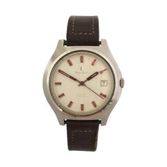 Vintage 1970s Stainless Steel Automatic Bulova Watch