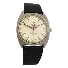 Vintage 1970s Stainless Steel Roamer Elegant Watch