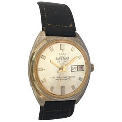 Vintage 1970s Swiss Mechanical Watch