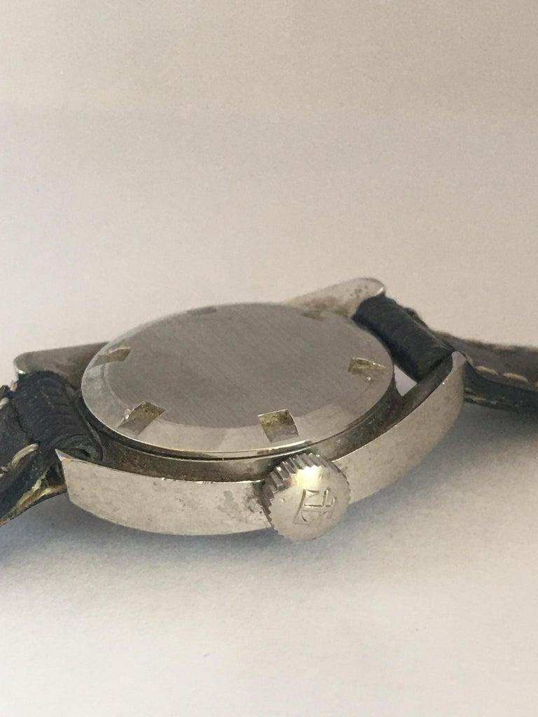 Vintage 1970s Tissot Seastar Ladies Mechanical Watch For Sale 8