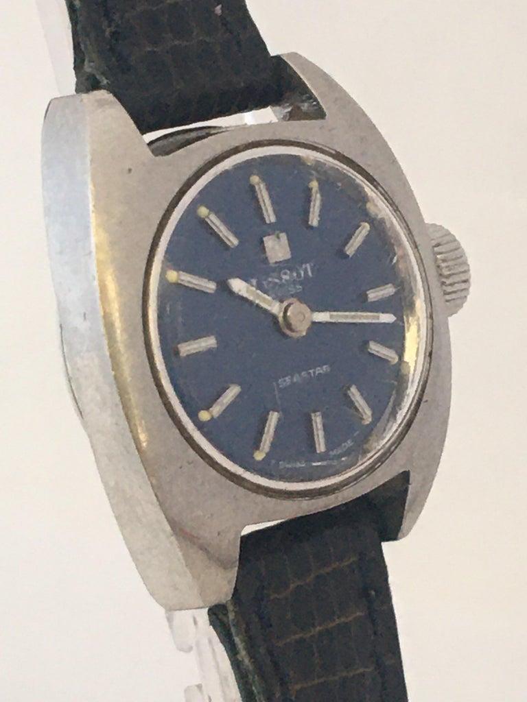 Women's Vintage 1970s Tissot Seastar Ladies Mechanical Watch For Sale