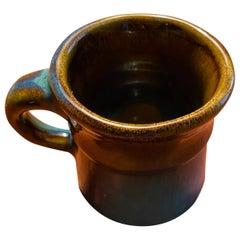 Vintage 1972 Harding Black Mug