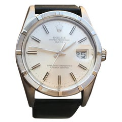 Vintage 1980 Rolex 15010 Automatic Quick Set Date with Silver Stick Dial
