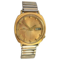 Vintage 1980s Gold-Plated Seiko Automatic Gents Watch
