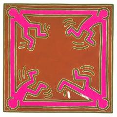 Vintage 1980s Keith Haring Exhibition Catalog
