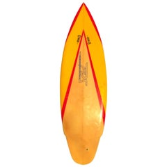 Vintage 1980s PDS Custom Surfboards by Tony Staples Shortboard