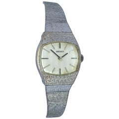 Vintage 1980s Seiko Mechanical Ladies Watch