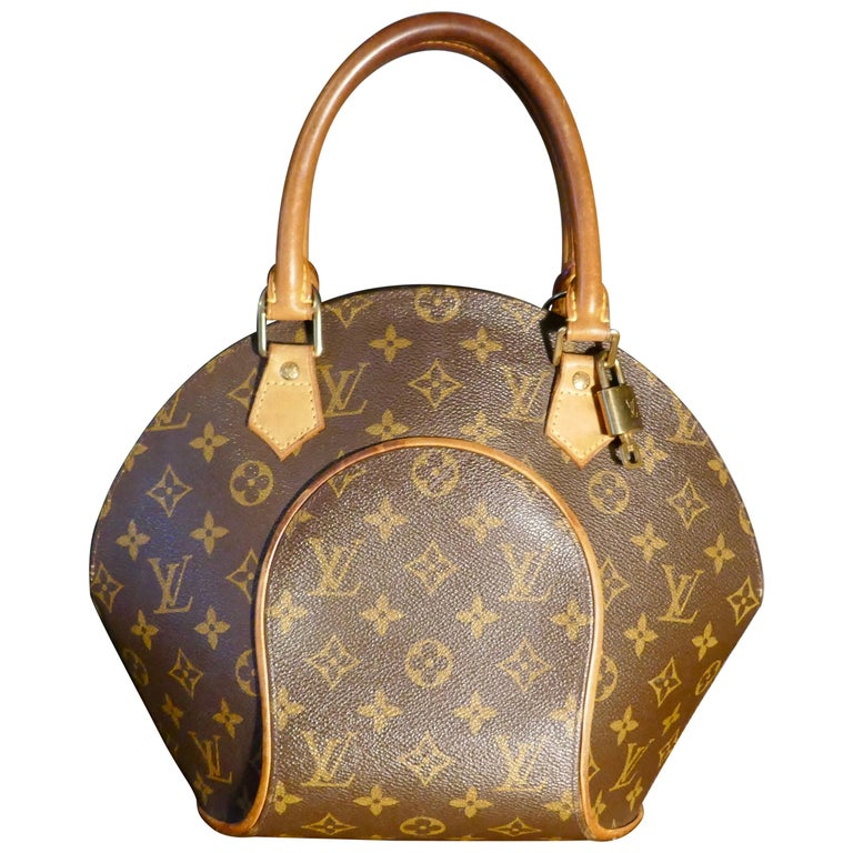 Vintage 1990s Louis Vuitton Ellispe MM Hand Bag For Sale