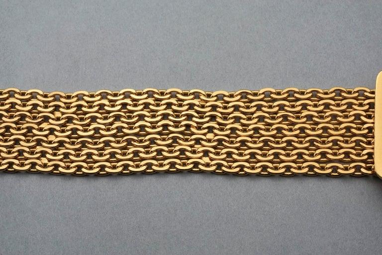 Vintage 1996 CHANEL Logo Buckle Multi Chain Belt For Sale 3