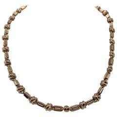 Vintage 1999 14 Karat Yellow Gold Italian Link Necklace