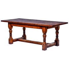 Vintage 19th Century Style Farm Table