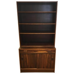 Vintage 2-Pieces Rosewood Bookcases