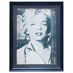 Vintage 20th Century Marilyn Monroe Large Photography Print