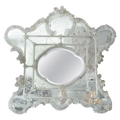 Vintage 20th Century Ornate Italian Mirror