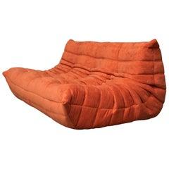 Vintage 3-Seat Sofa Ligne Roset FR Model Togo as Good as New Top