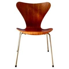 Vintage 3107 Dining Chair by Arne Jacobsen for Fritz Hansen, Denmark