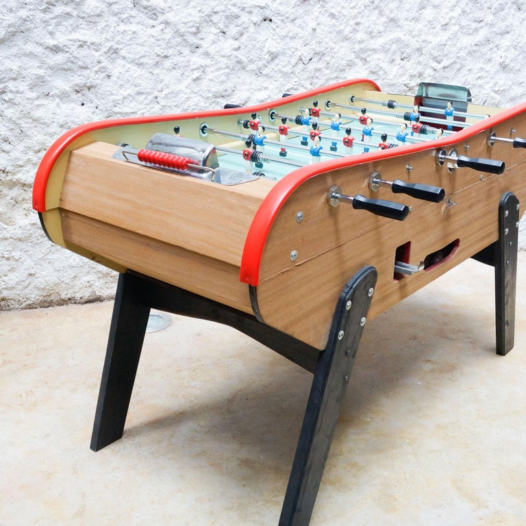 French Vintage 360 Bonzini Table Football, circa 1960 For Sale