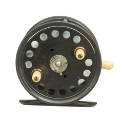 "Vintage 4 1/2"" Hardy 'Silex' No. 2 Fishing Reel"