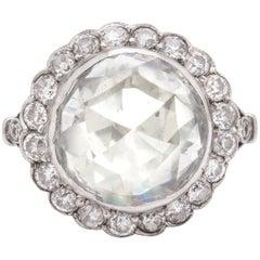 Vintage 5 Carat Rose Diamond Ring