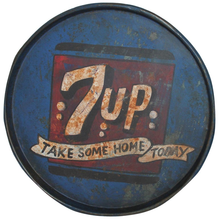 Vintage 7up Tray For Sale