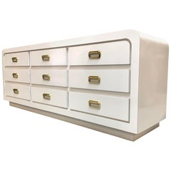 Hollywood Regency Case Pieces and Storage Cabinets