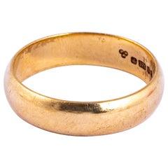 Vintage 9 Carat Gold Band