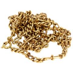 Vintage 9 Carat Gold Chain