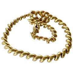 Vintage 9 Carat Gold Chain Necklace