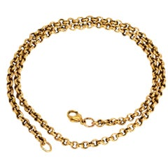 Vintage 9 Carat Gold Chain Necklace