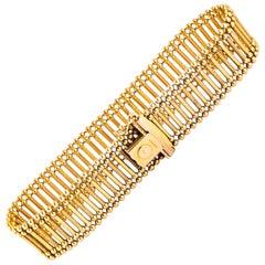 Vintage 9 Carat Gold Cuff Bracelet