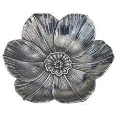 Vintage 925 Silver Narcissus Flower Dish by Gianmaria Buccellati
