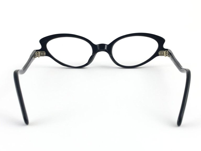 Vintage A. Paulette Cateye Sunglasses 1960 Made in France For Sale 1