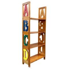 Vintage ABC Kid's Bookshelf