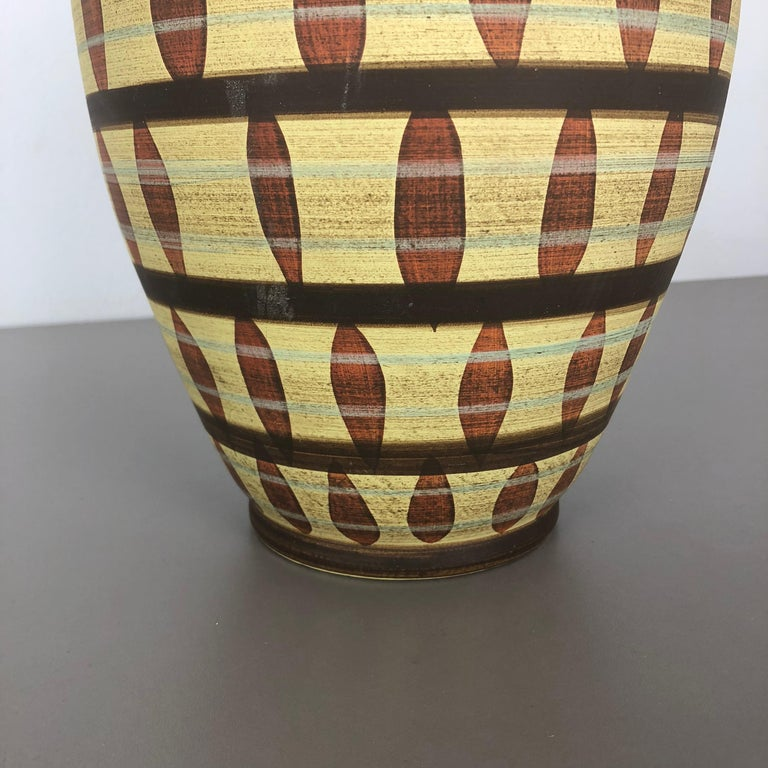 Vintage Abstract Ceramic Pottery Vase by Simon Peter Gerz, Germany, 1950s For Sale 6