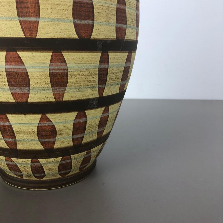 Vintage Abstract Ceramic Pottery Vase by Simon Peter Gerz, Germany, 1950s For Sale 2