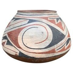 Vintage Acoma Pueblo Pottery Vase