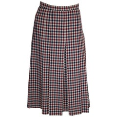 Vintage Acquascutum Check Skirt
