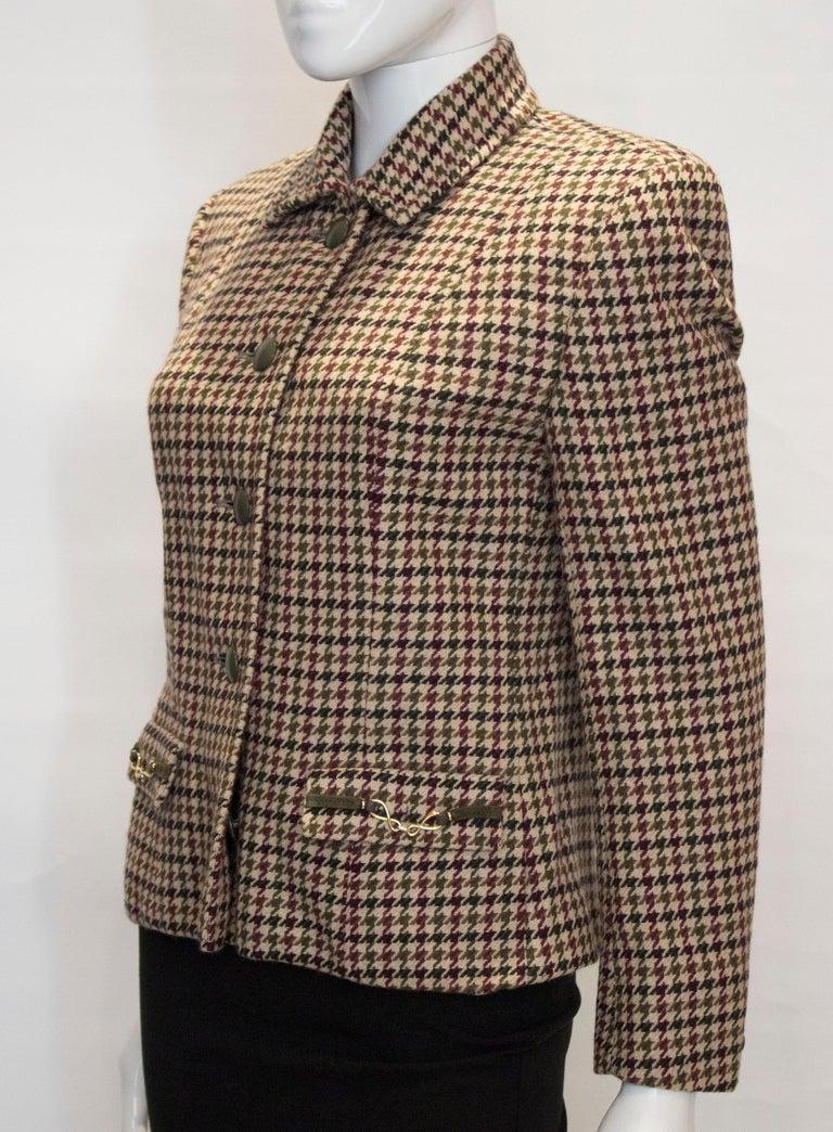 Women's Vintage Acquascutum Jacket For Sale