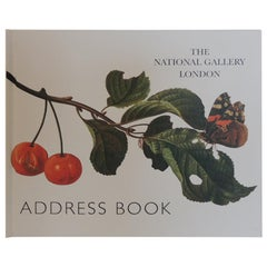 Vintage Address Book from The National Gallery of London