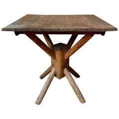 Vintage Adirondack Center Table
